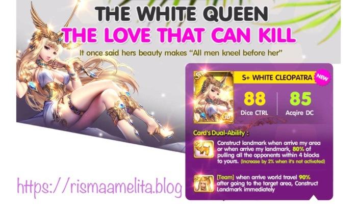 white cleopatra s+ ability