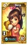 kartu karakter nana let's get rich