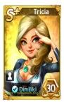 kartu karakter tricia let's get rich
